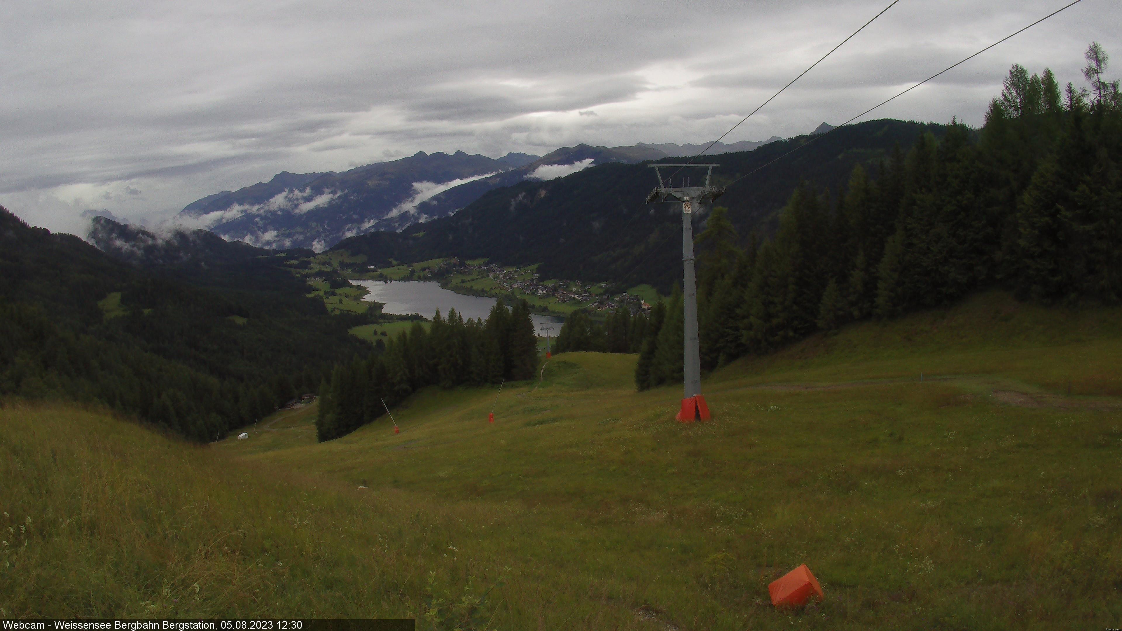 Weißensee Bergbahnen – Bergstation webcam Live